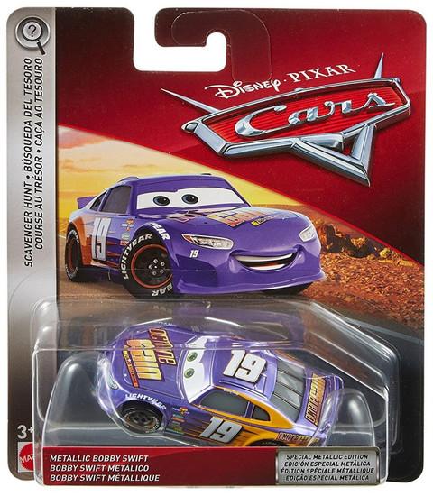 Disney / Pixar Cars Cars 3 Scavenger Hunt Metallic Bobby Swift Diecast Car
