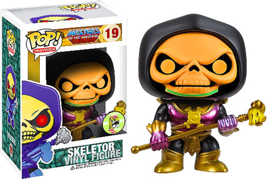 Funko Masters of the Universe POP! TV Skeletor Exclusive Vinyl Figure #19 [Disco]