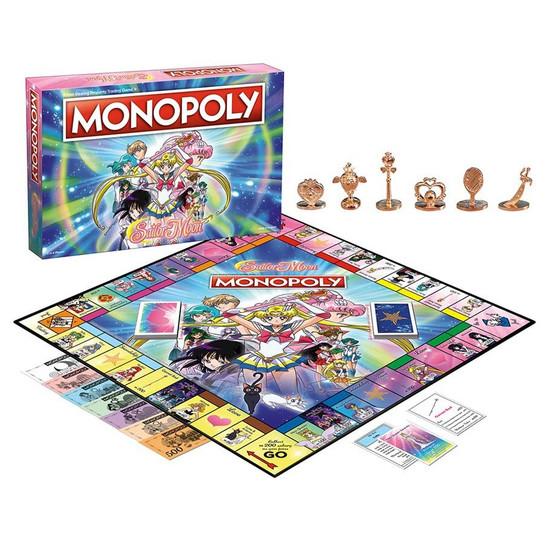 Monopoly Sailor Moon Board Game