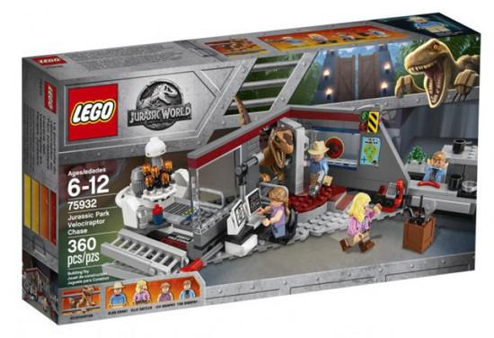 LEGO Jurassic World Velociraptor Chase Set #75932