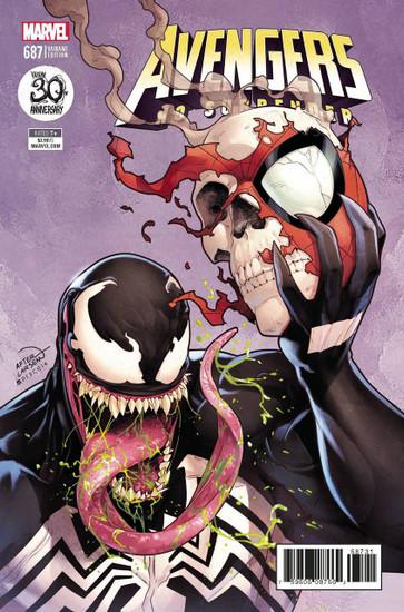 Marvel Comics Avengers #687 Comic Book [Venom 30th Variant Cover]