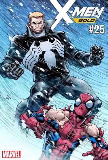 Marvel Comics X-Men Gold #25 Comic Book [Nauck Venom 30th Variant Cover]
