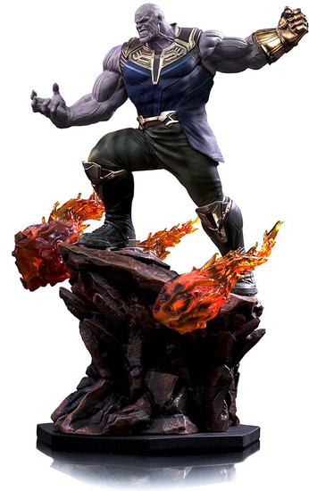 Marvel Avengers Infinity War Thanos Battle Diorama Statue