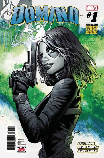 Marvel Comics Domino #1 Comic Book