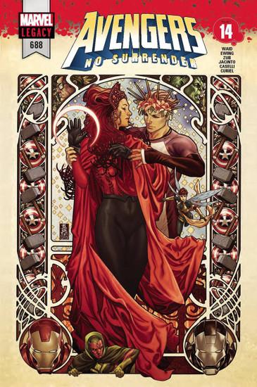 Marvel Comics Avengers #688 Comic Book