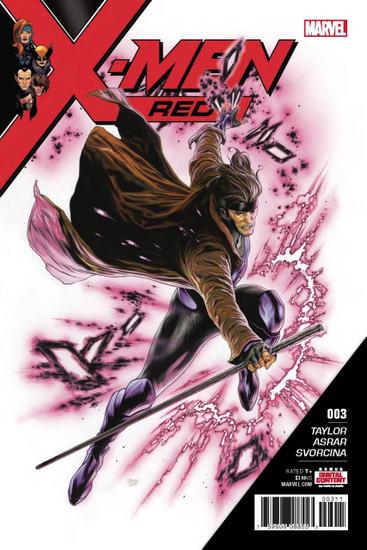 Marvel Comics X-Men Red #3 Comic Book