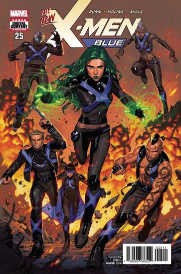 Marvel Comics X-Men Blue #25 Comic Book