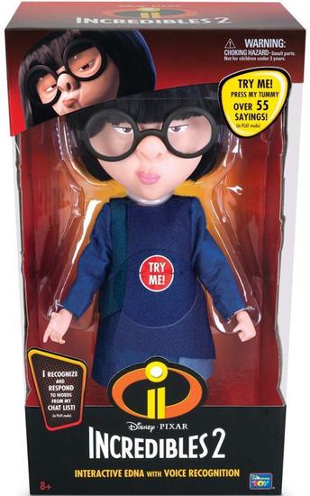 Disney / Pixar Incredibles 2 Edna Interactive Doll [Voice Recognition]