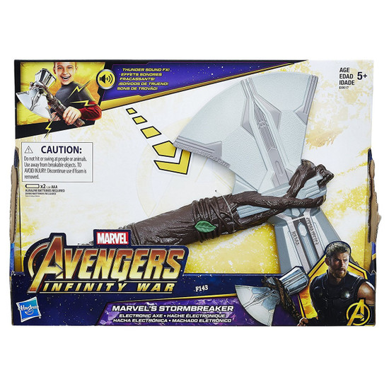 Avengers Infinity War Marvel's Stormbreaker Roleplay Toy [Electronic Axe]