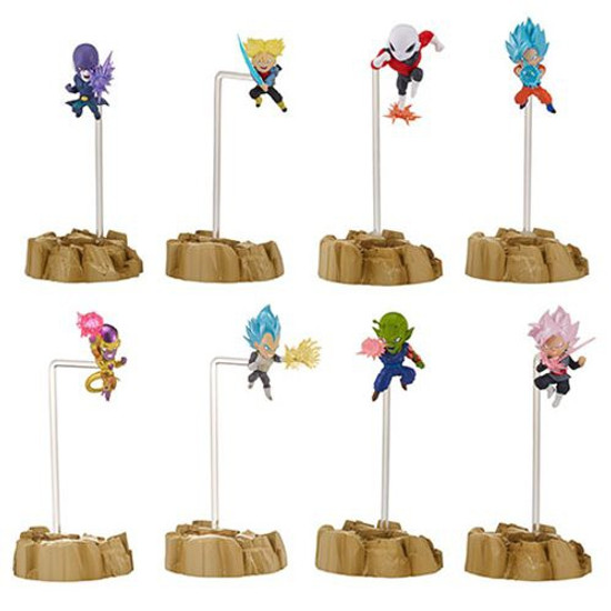 Dragon Ball Super Dragon Stars Nano 1.5-Inch Set of 4 Mini Figure 2-Packs