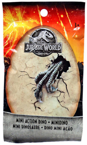 Jurassic World Matchbox Series 1 Mini Dinosaur Figure 2-Inch Mystery Pack