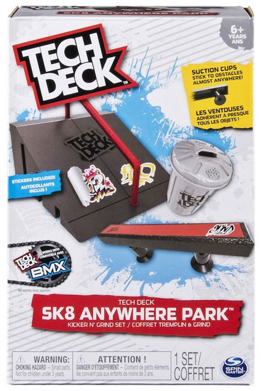 Tech Deck Sk8 Anywhere Park Kicker N' Grind Set Exclusive