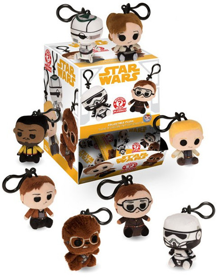 Funko Mystery Minis Plush Keychains Solo A Star Wars Story Mystery Box [18 Packs]