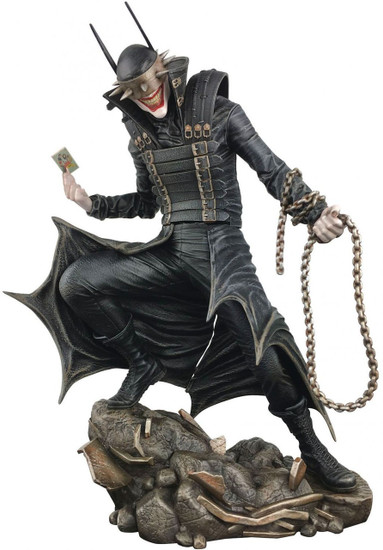 DC Gallery Dark Nights: Metal The Batman Who Laughs 9-Inch Collectible PVC Statue