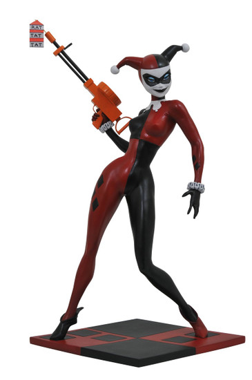 Batman The Animated Series Premier Collection Harley Quinn 12-Inch Statue