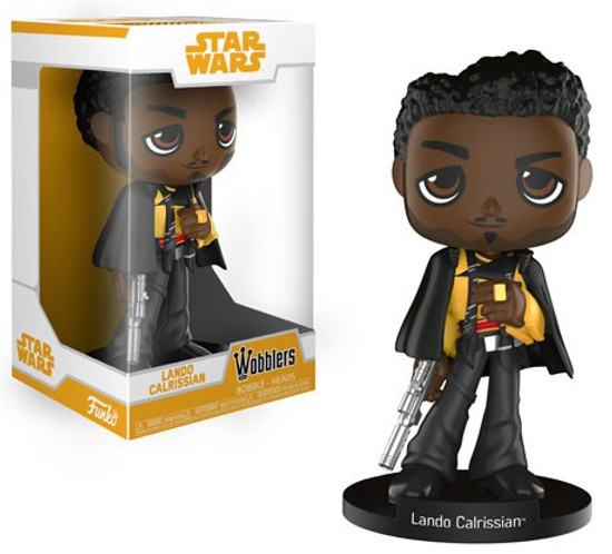 Funko Solo A Star Wars Story Wobblers Lando Calrissian Bobble Head