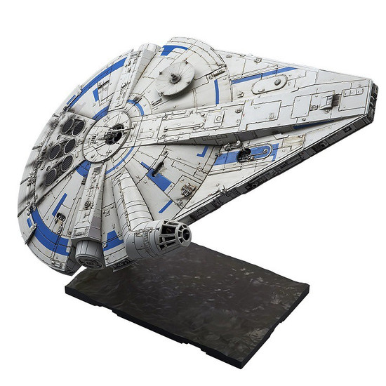 Solo A Star Wars Story Millennium Falcon 1/144 Plastic Model Kit [Lando Calrissian Version]