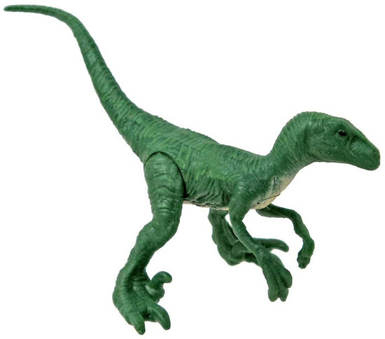Jurassic World Matchbox Series 1 Mini Dino Figure Velociraptor 2-Inch Mini Figure [Loose]