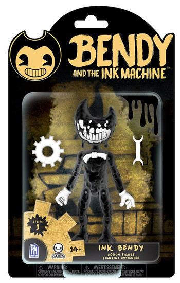 Bendy and the Ink Machine Series 1 Ink Bendy Action Figure [Inked Up]