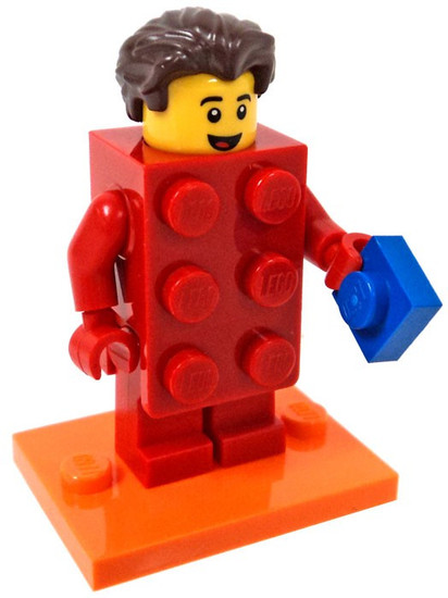 LEGO Minifigures Series 18 Brick Suit Guy Minifigure [Loose]