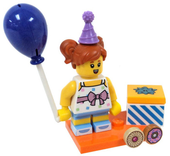 LEGO Minifigures Series 18 Birthday Party Girl Minifigure [Loose]