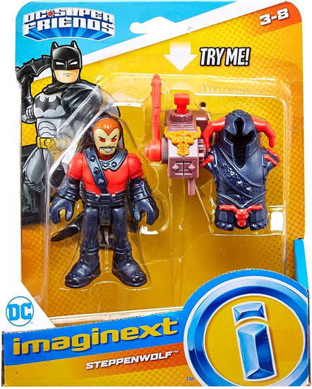 Fisher Price DC Super Friends Imaginext Steppenwolf Figure Set