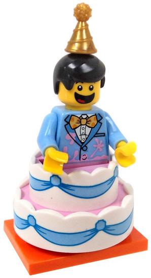 LEGO Minifigures Series 18 Birthday Cake Guy Minifigure [Loose]