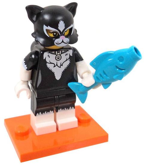 LEGO Minifigures Series 18 Cat Costume Girl Minifigure [Loose]