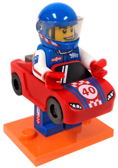 LEGO Minifigures Series 18 Race Car Guy Minifigure [Loose]
