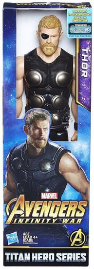 Marvel Avengers Infinity War Titan Hero Series Thor Action Figure [2018]