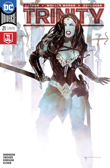 DC Trinity #21 Comic Book [Variant Cover]