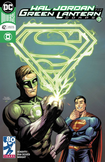 DC Hal Jordan and The Green Lantern Corps #42 Comic Book [Variant Cover]