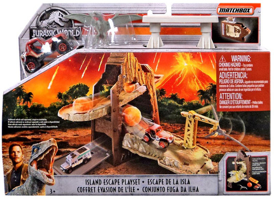 Jurassic World Matchbox Island Escape Playset