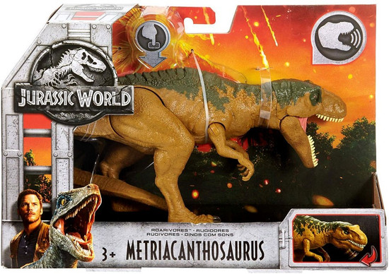 Jurassic World Fallen Kingdom Roarivores Metriacanthosaurus Action Figure