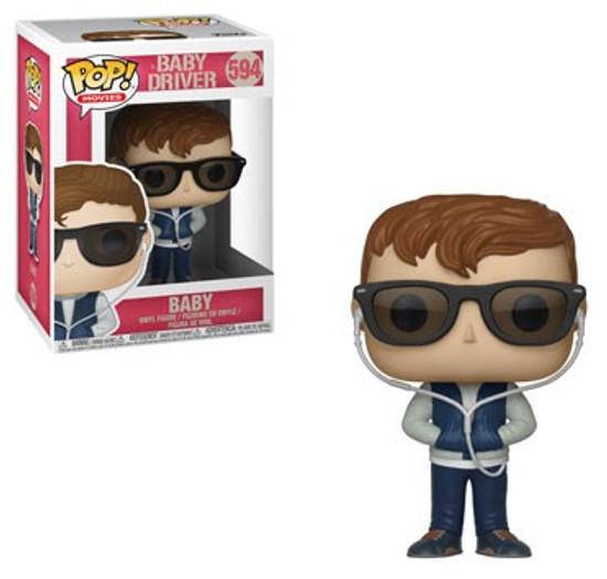 Funko Baby Driver POP! Movies Baby Vinyl Figure #594 [Regular Version, With Sunglasses]