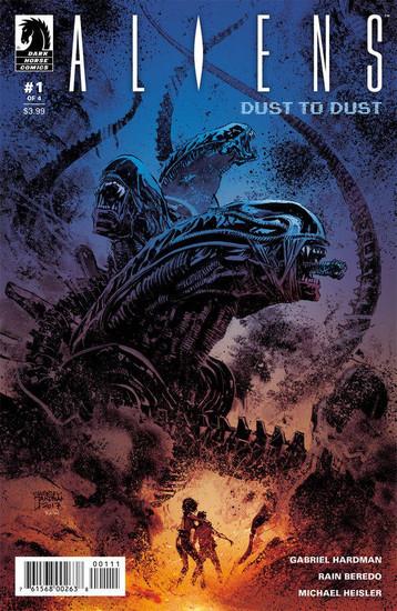 Dark Horse Aliens Dust to Dust #1 Comic Book