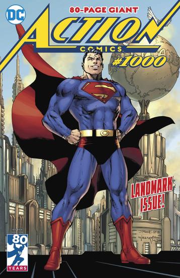 DC Action Comics #1000 Comic Book