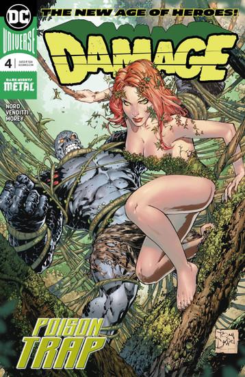 DC Damage #4 Poison Trap Comic Book
