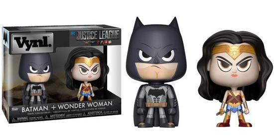 Funko DC Justice League Vynl. Batman & Wonder Woman Vinyl Figure 2-Pack