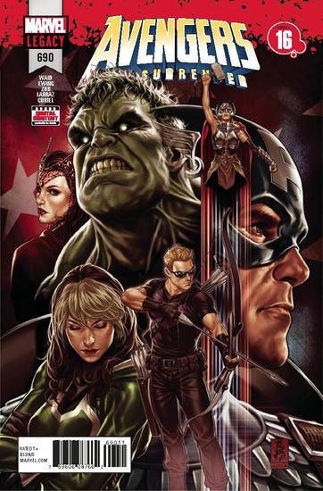 Marvel Comics Avengers #690 Comic Book