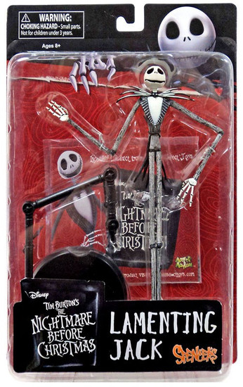 Nightmare Before Christmas Lamenting Jack Exclusive Action Figure