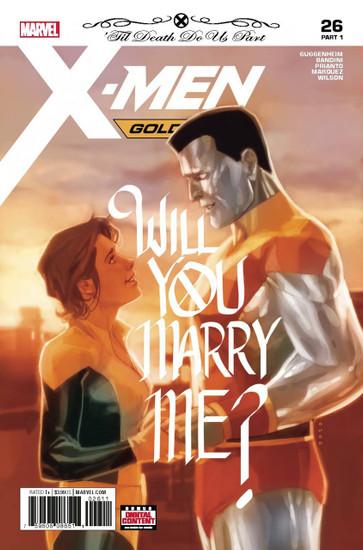 Marvel Comics X-Men Gold #26 Comic Book