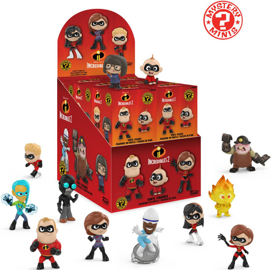 Funko Disney / Pixar Mystery Minis Incredibles 2 Mystery Box [12 Packs]