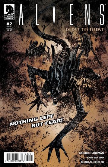 Dark Horse Aliens Dust to Dust #2 Comic Book