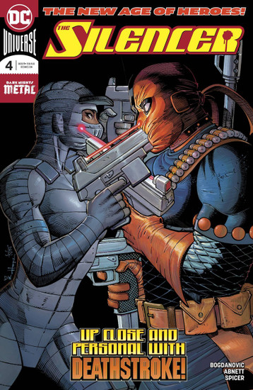DC Silencer #4 Comic Book