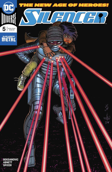 DC Silencer #5 Comic Book