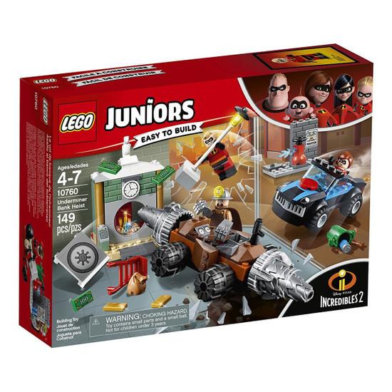 LEGO Disney / Pixar Incredibles 2 Juniors Underminer Bank Heist Set #10760