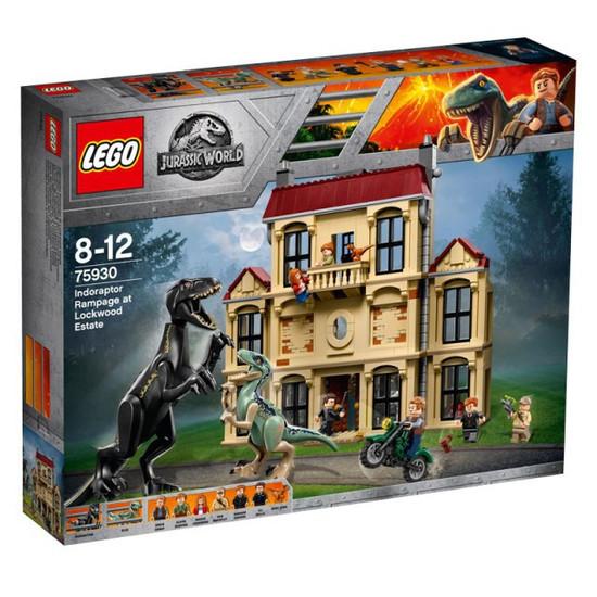 LEGO Jurassic World Indoraptor Rampage at Lockwood Estate Set #75930