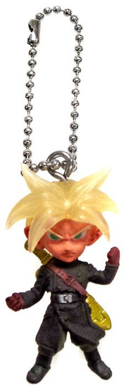 Dragon Ball Super UDM Best 23 Xeno SS Trunks 1.5-Inch Keychain Clip-On
