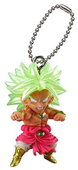 Dragon Ball Super UDM Best 22 Broly 1.5-Inch Keychain Clip-On [Loose]